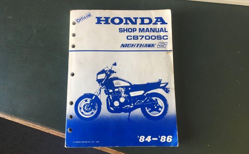 Download Honda Nighthawk Cb700sc Shop Manual Pdf
