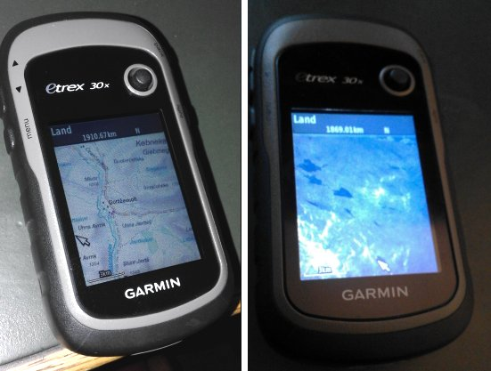 GIS data and digital maps for hiking in the mountains of
